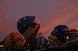 Photograph from Forest Park Balloon Race and Glow