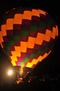 Photograph of Forest Park Balloon Race and Glow